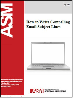 how to write compelling email subject lines association